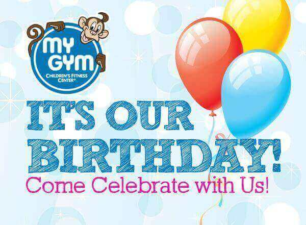My Gym Anniversary Offer