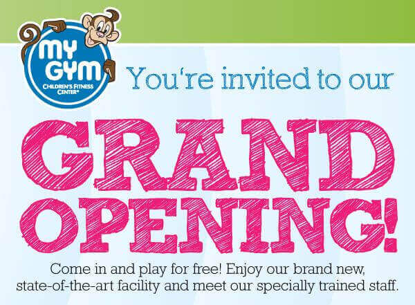 My Gym Grand Opening Offer